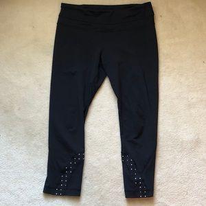 lululemon athletica Pants - Lululemon Inspire Crop Block It Reflective Black 8